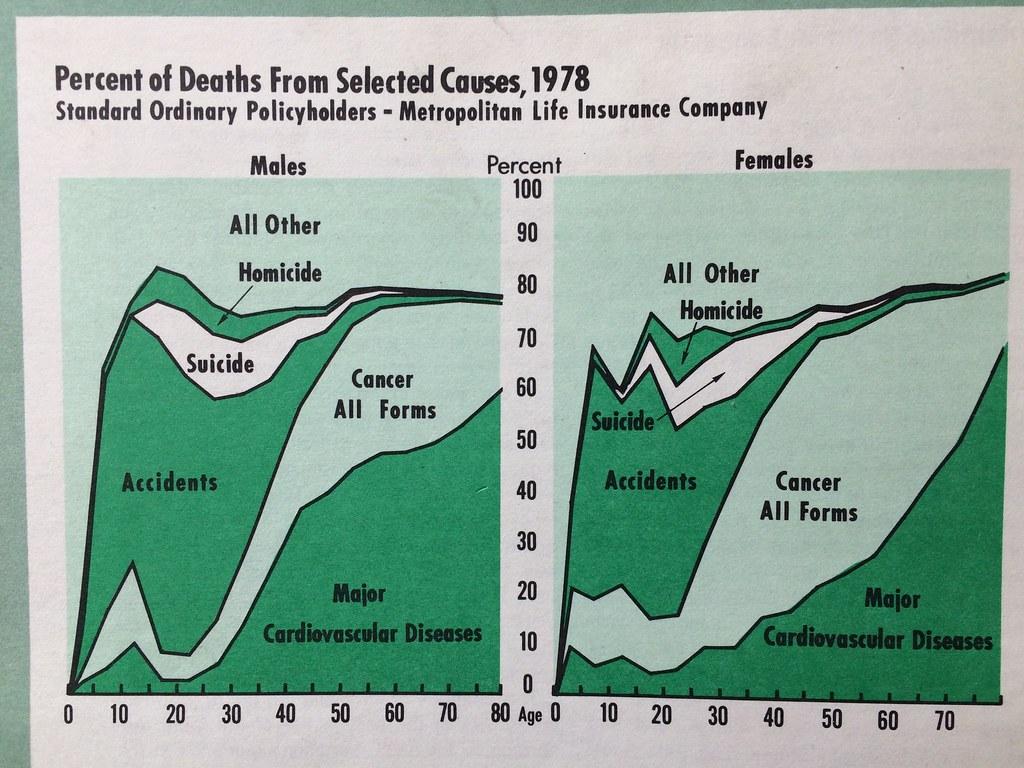 общая структура смертности застрахованых
