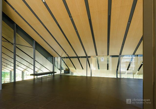Indoor view of Nezu Museum (根津美術館)