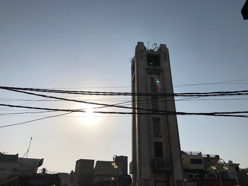 City Landmark - The Forlorn Clock Tower, Sabzi Mandi