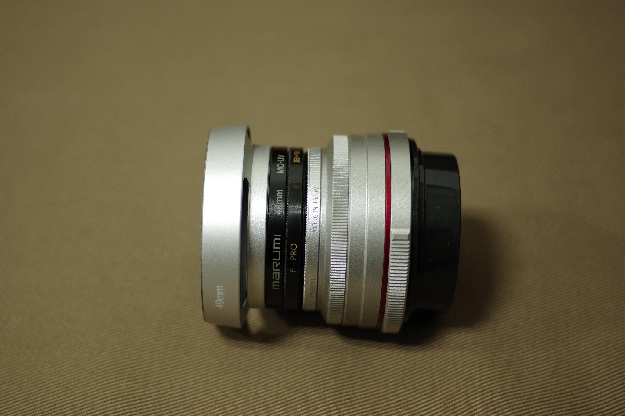 Marumi 49mm & Hakuba 27mm 保護鏡
