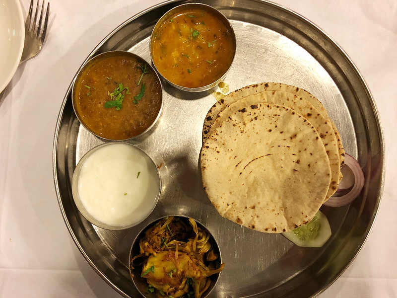 City Food – Ghar Ka Khana Platter, India International Center