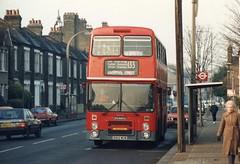 26 November 1988 Streatham B102WUW