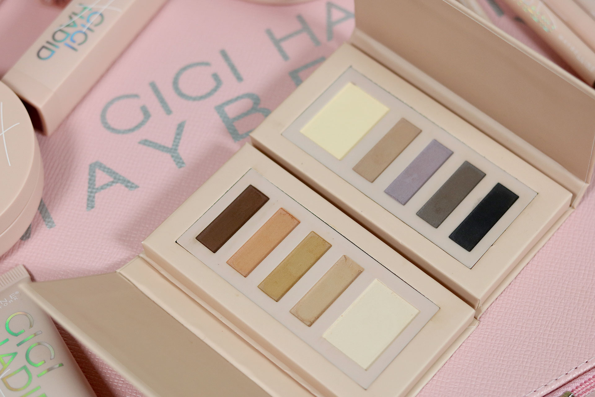 26 Gigi Hadid Maybelline Collection Review Swatches Photos - Gen-zel She Sings Beauty