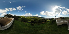 From the Punchbowl Lookout - a 360° Equirectangular VR (insta360 ONE)