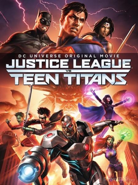 Liên Minh Công Lý đụng độ nhóm Teen Titans