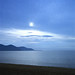 Evening at Baikal lake