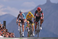 Darwin Atapuma leader d'UAE Team Emirates sur le Tour de San Juan