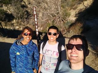 Strawberry Peak Hike 1-28-18