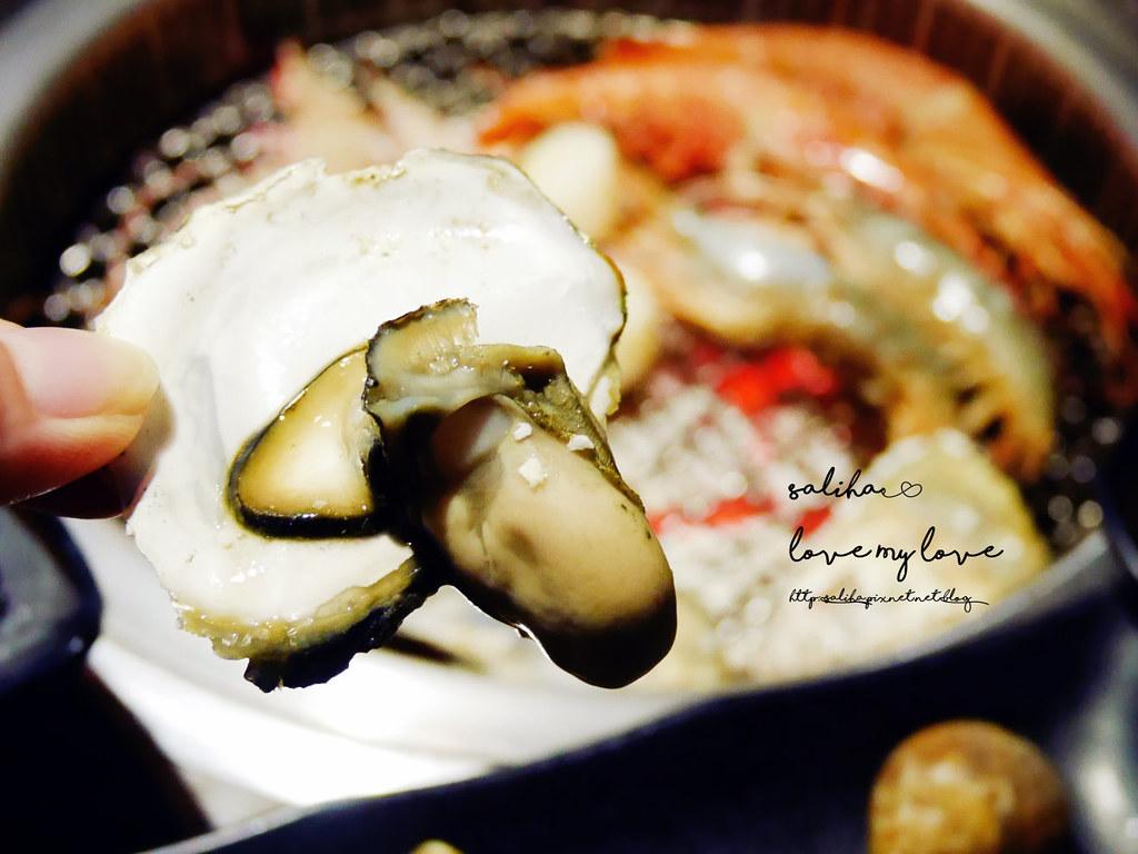 台北東區燒烤烤肉推薦好客燒烤忠孝店生蠔吃到飽