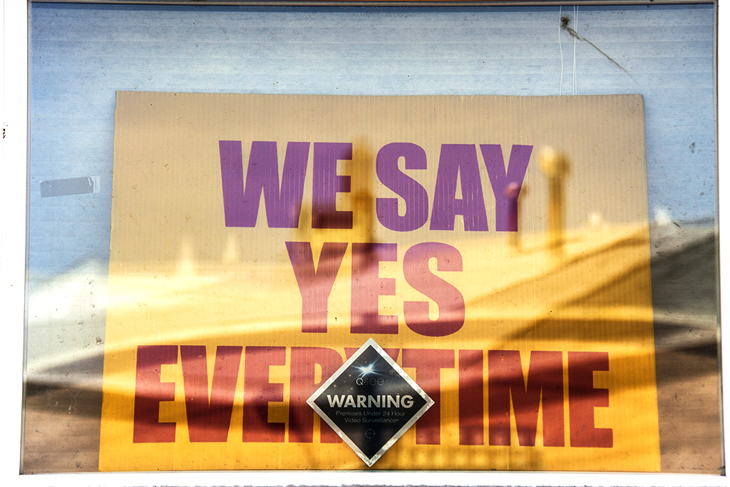 WE SAY YES EVERYTIME--Palmyra