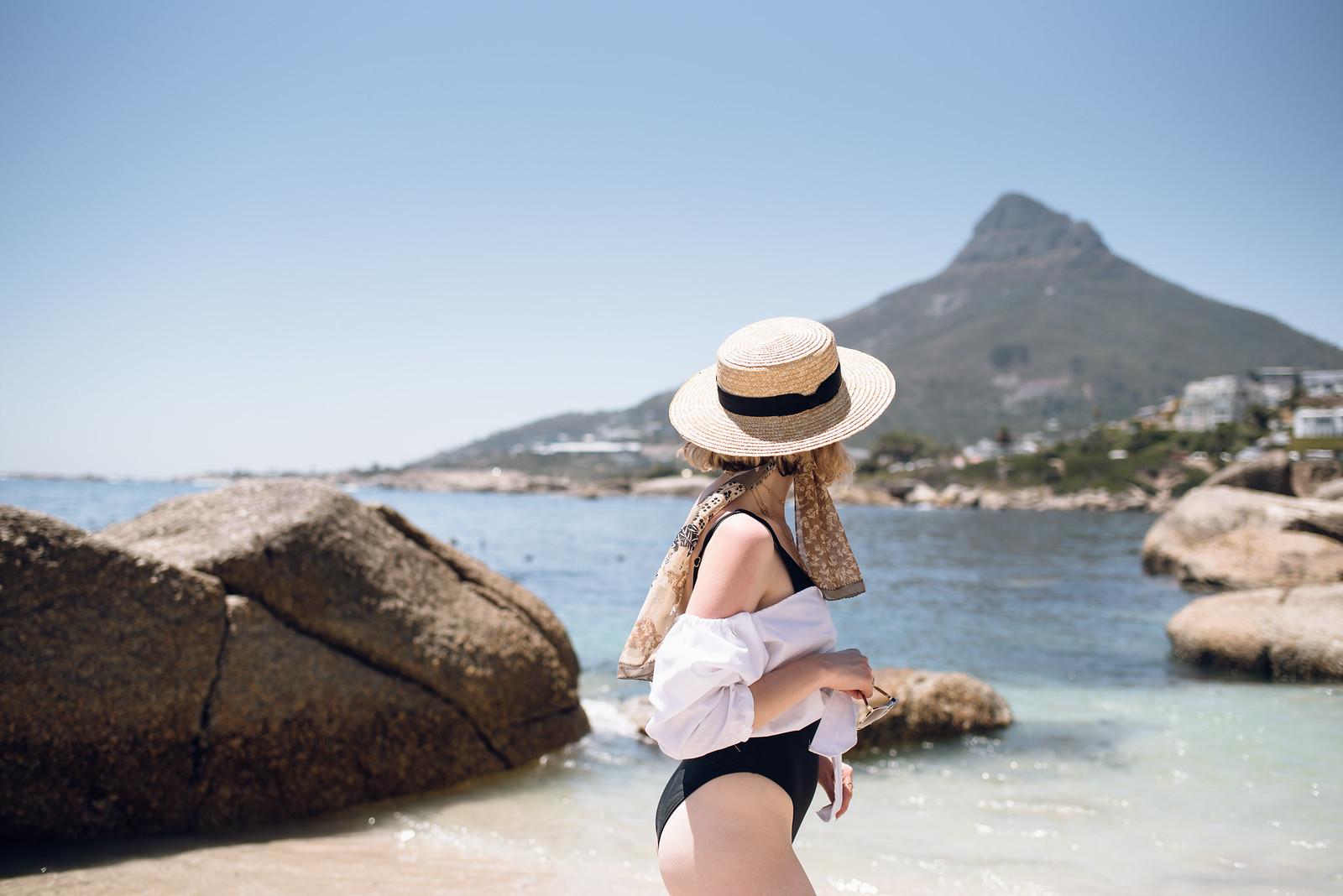Cape Town Beach in Jaelle on juliettelaura.blogspot.com