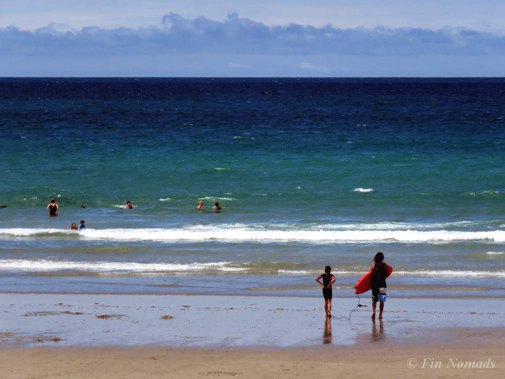 Waipu beach New Zealand