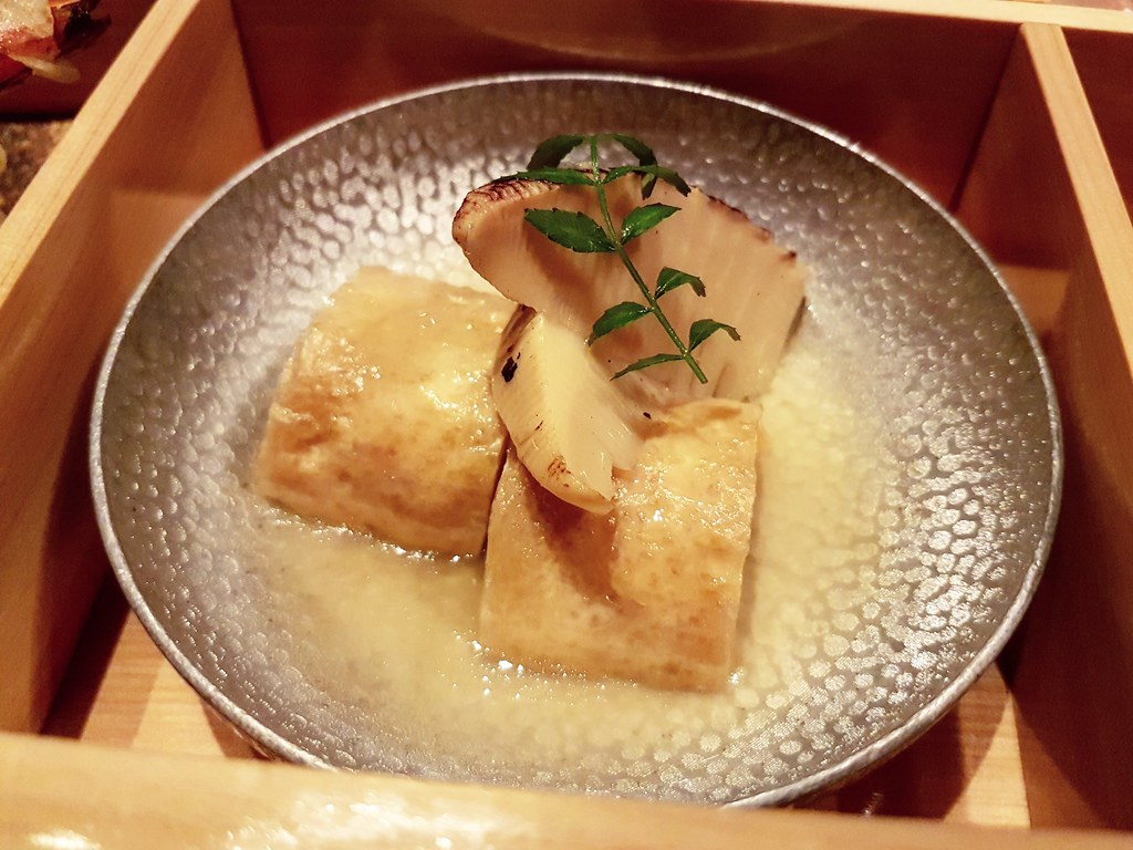 Authentic Japanese Braised Bamboo Shoots and Shrimp Cake
