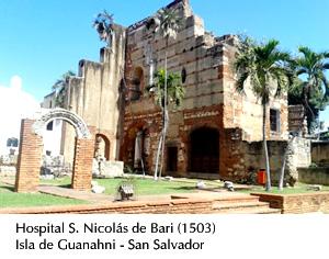 Hospital, Guanahni, San Salvador (1503)