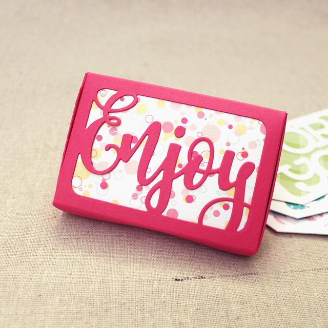 Enjoy Gift Card Box