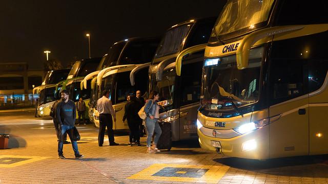 Busbahnhof in La Serena