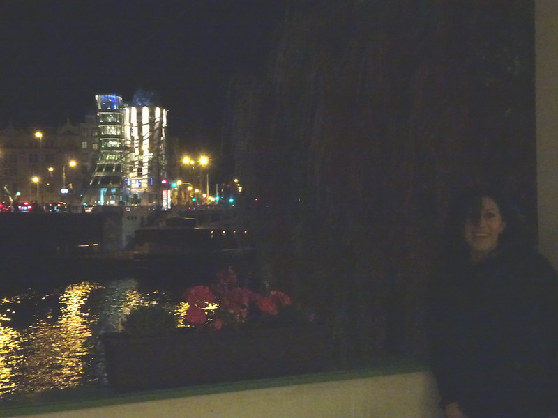 Íbamos a una cena en Praga