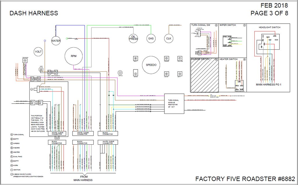Finishing a Wiring Diagram for My Build Factory Five Forums