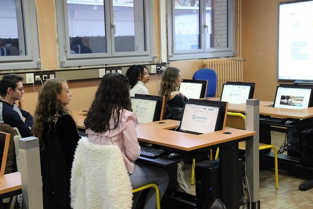 Visite au lycée Brémontier à Bordeaux Plateforme Parcoursup