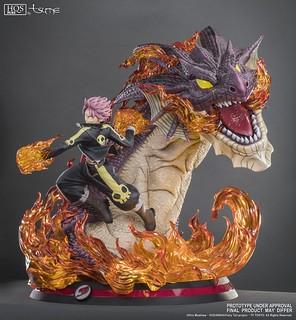 「火龍」的魄力姿態完美再現!! Tsume-Art HQS+ 系列《FAIRY TAIL魔導少年》納茲 Natsu Dragon Slayer 1/4 比例全身雕像作品