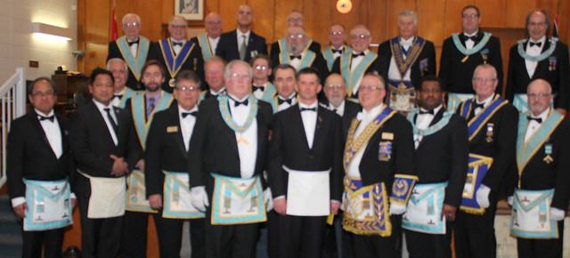 2018 03 05 Dundurn Lodge No. 475 Official Visit of the DDGM