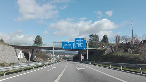 A4 - saída A11 Felgueiras