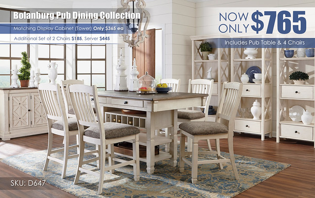 Bolanburg Counter Height Dining Collection_NEW - D647-32-124-(6)-60-76(3)-R400771