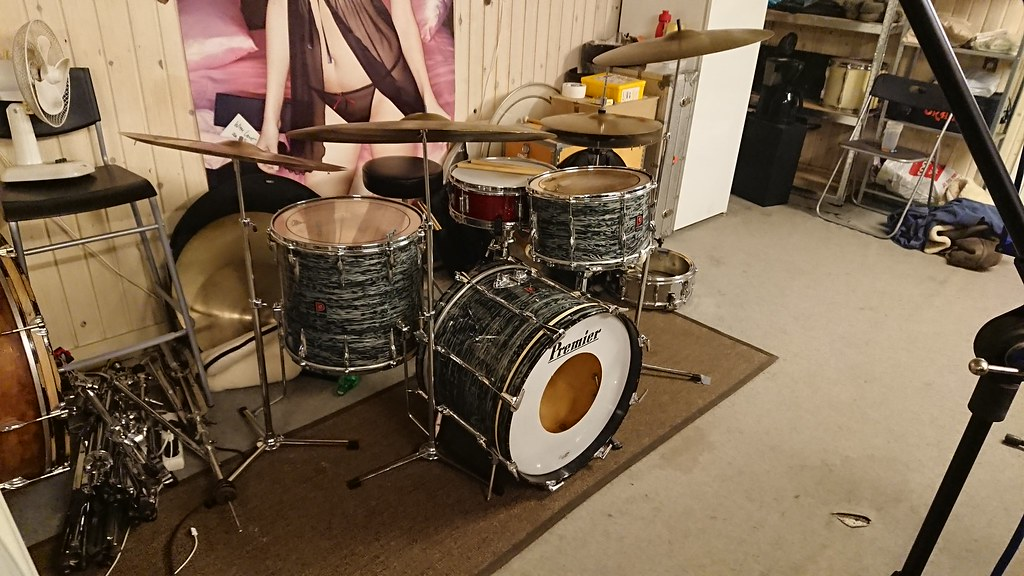 I got some new, old drums today