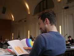 Über die Schulter geschaut: Junger Journalist Jonas Lerch