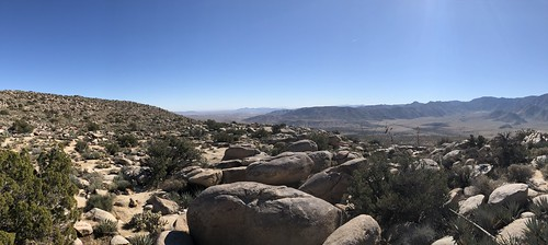 Borrego Springs - Ghost mountain panorama