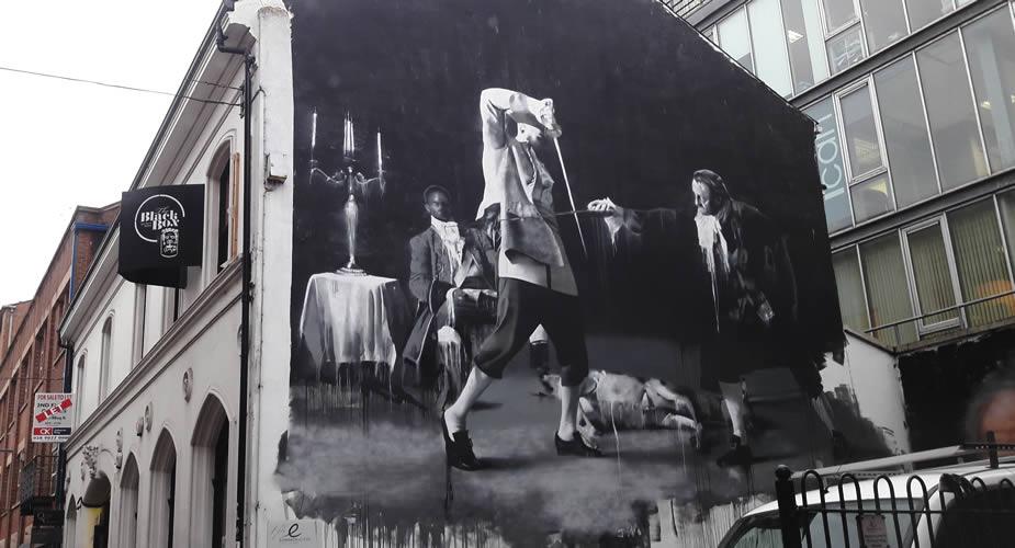 Street art in Belfast: Hill street | Mooistestedentrips.nl