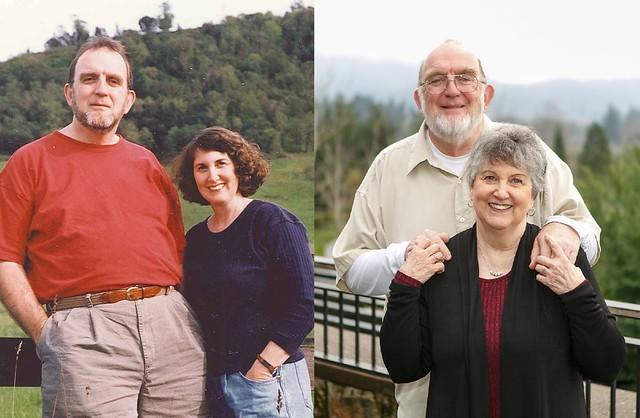 Mauri & Sherry - 20 years apart