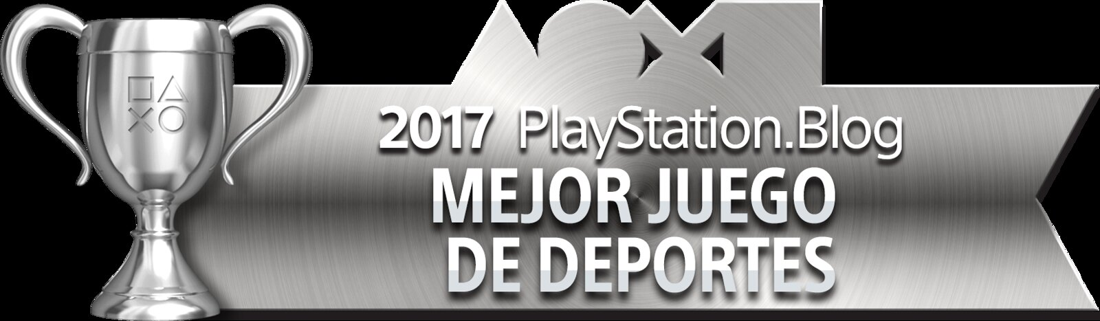 PlayStation Blog Game of the Year 2017 - Best Sports Game (Silver)