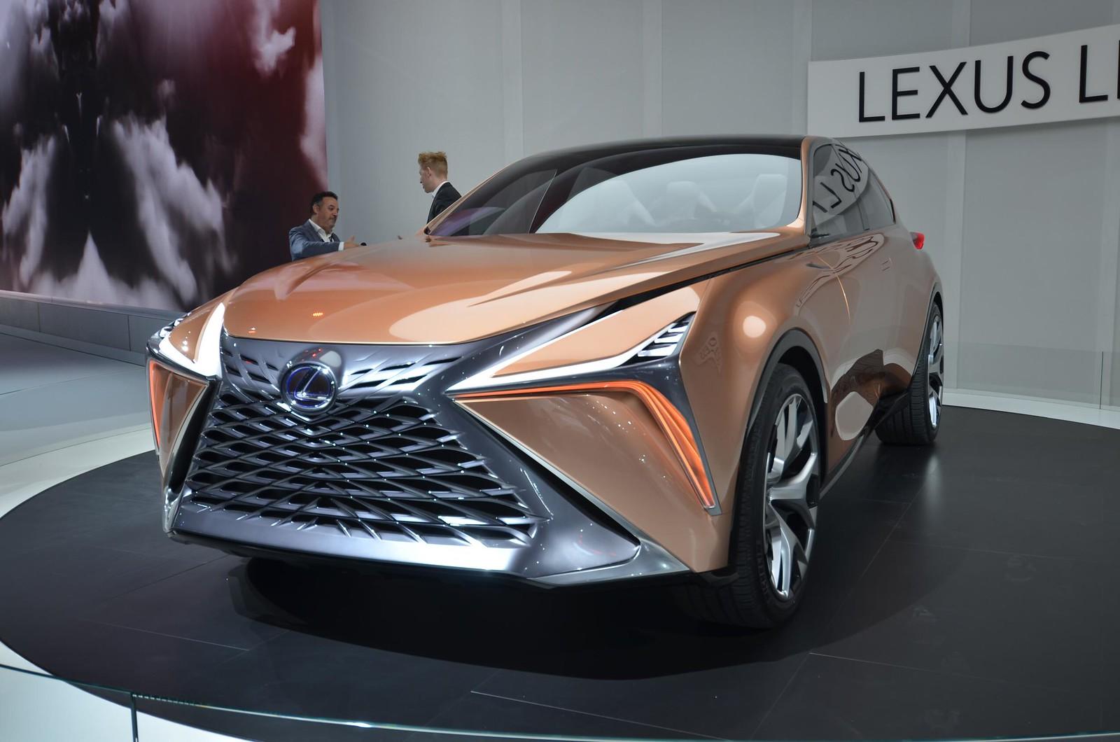 Lexus LF-1 Limitless live photos: 2018 NAIAS