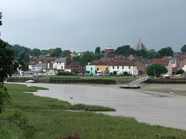 Rowhedge from Wivenhoe
