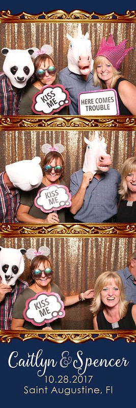 Wedding Photobooth Fountain of Youth Saint Augustine, Florida St. Aug FOY reception outdoors