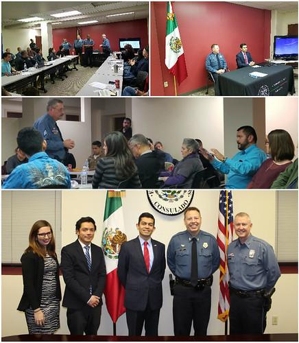 Consulado de México y Departamento de Policía de Kansas City, Missouri, colaboran para acercar servicios a la comunidad hispana