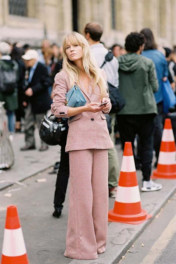suits street style fashion outft winter 2018 inspiracion looks para ir a trabajar5