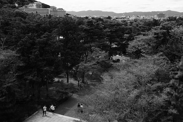 view from Sanmon(三門)@Nanzenji, Kyoto, Japan