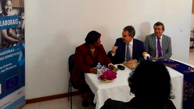 INSPIREDPlus - Mission to Cape Verde with PM Zapatero