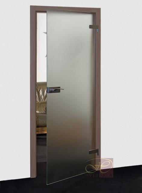 seseli skleněné dveře