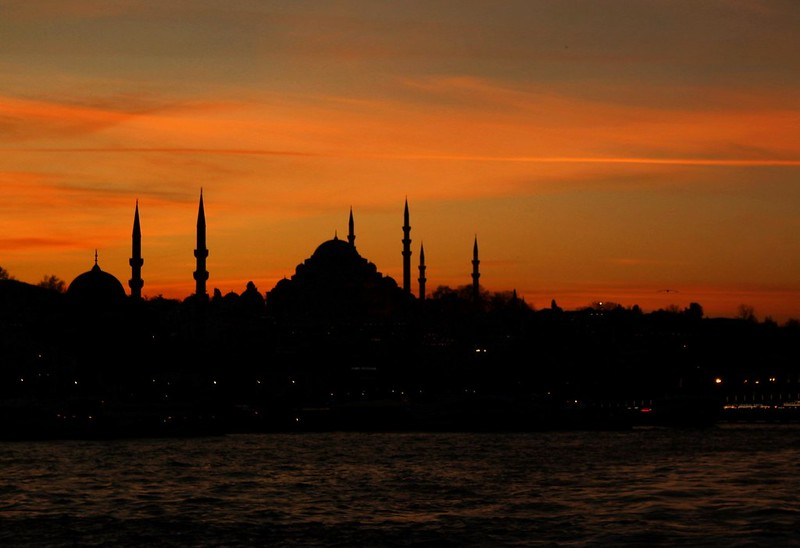 Evening in Istanbul