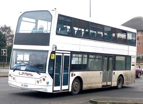 VIL 9VIL 9335 'Little's Travel', Ilkeston, Derbys. Volvo B7TL / East Lancs Vyking on 'Dennis Basford's railsroadsrunways.blogspot.co.uk'335
