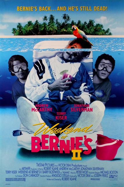 Weekend at Bernie's II - Poster 2