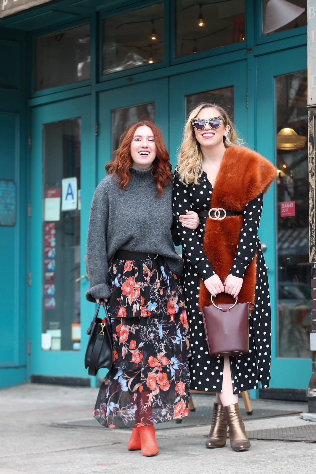 NYFW Street Style Blogger Outfits Winter Fashion Week