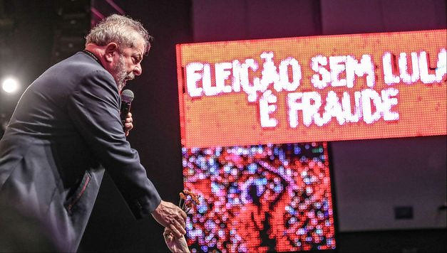 Lula received support from artists and intellectuals in Rio de Janeiro during act last week - Créditos: Ricardo Stuckert