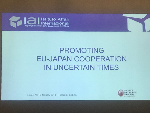 Promoting EU-Japan Cooperation in Uncertain Times