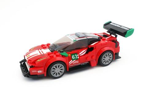 """LEGO Speed Champions Ferrari 488 GT3 """"Scuderia Corsa"""" (75886)"""