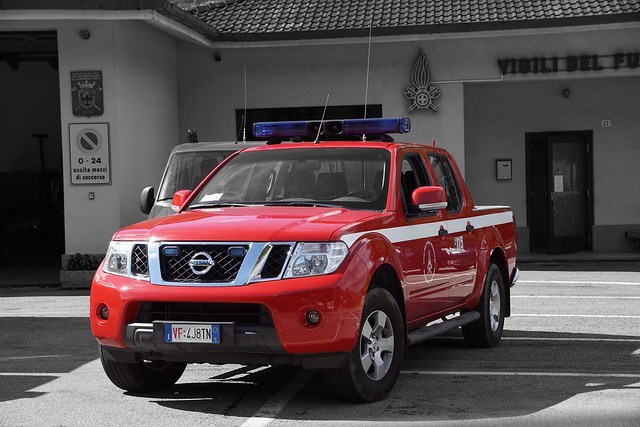 Vigili del Fuoco Bandone Boitoni Nissan Navara