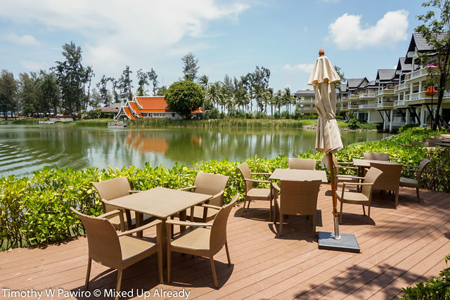 angsana laguna phuket restaurants the market place outdoor seating area - mixedupalready